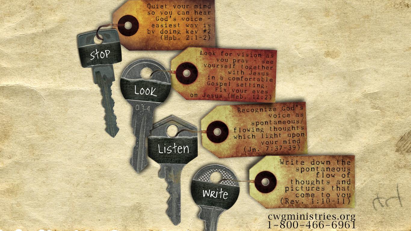 four keys to hearing god u0027s voice christian leadership university