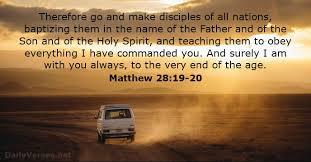 Just Ask Jesus: Matthew 28:19 Journal Challenge Day 4