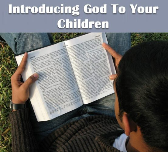 Introducing God to your children